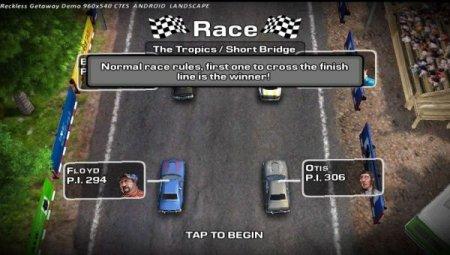 Игровое приложение для смартфона позволяет участвовать в реальной гонке