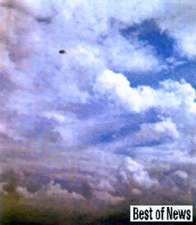 Над Мельбурном разлетались НЛО