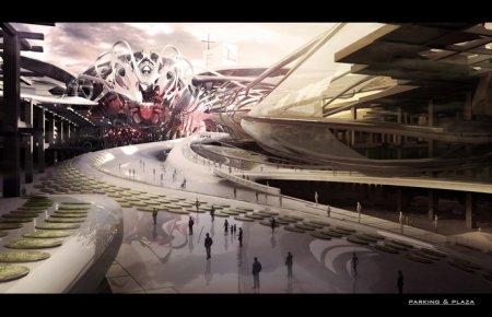 Архитекторы предложили проект церкви в стиле фантастических фильмов