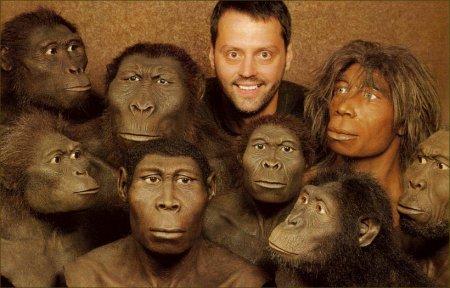 У человека и обезьяны нет предков на земле
