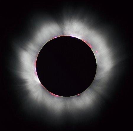 Солнечные затмения меняют направление ветра