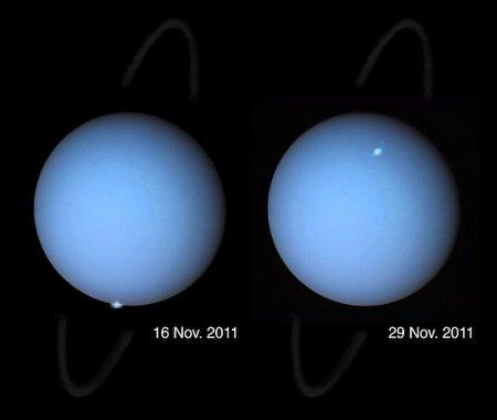 Видеокамеры зафиксировали удивительное полярное сияние на Уране