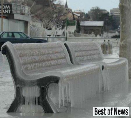 Как из-за ледяного дождя катастрофически пострадали крыши в Клину