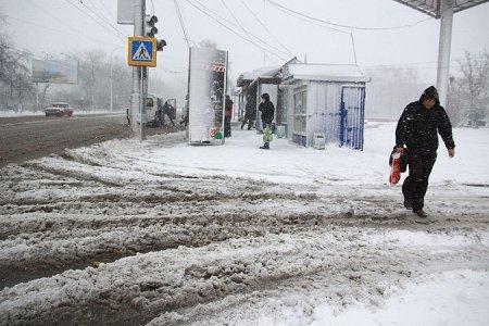 Аномальные снегопады обрушились на США и восток России