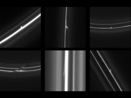 Странные объекты возле колец Сатурна