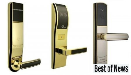 Охранные технологии: электронные замки для дверей