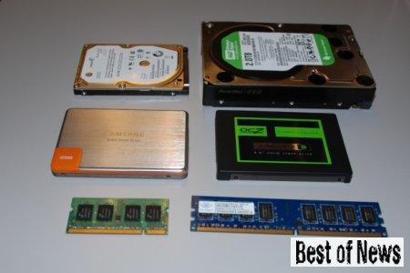 Что внутри SSD винчестера?