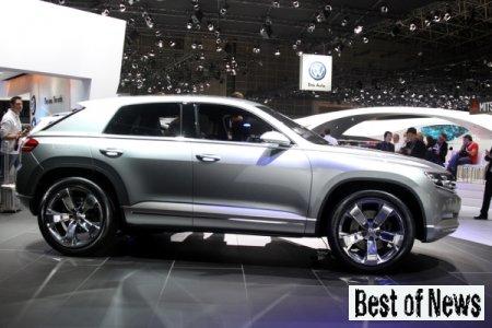 Volkswagen Cross Coupe стал обладателем премии «eCar Award 2012»
