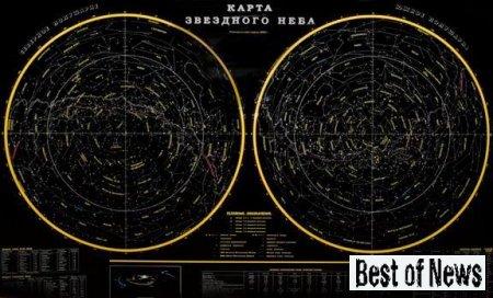 Как была составлена карта звездного неба?