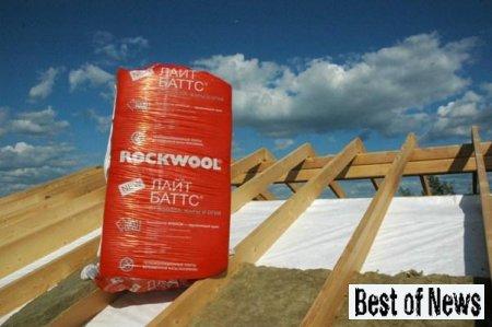 Теплоизоляционные плиты Венти Баттс от компании Rockwool
