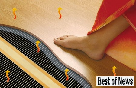 Теплый пол как источник отопления