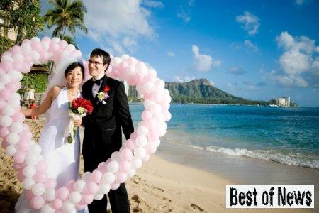 Украшение воздушными шарами свадьбы