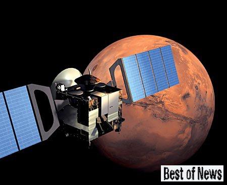Есть ли на Марсе атмосфера