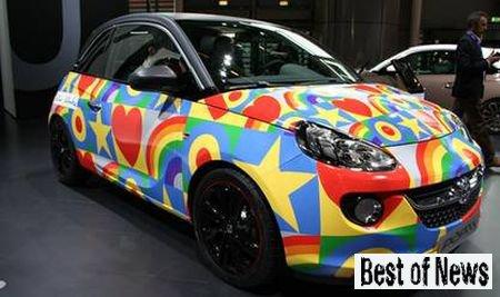 Самый компактный и яркий Opel Adam