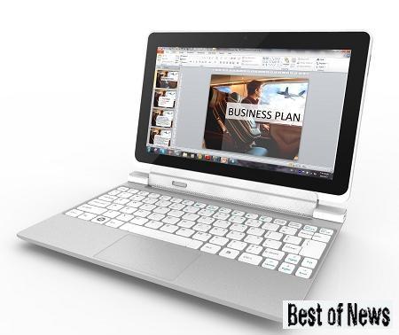 Новый планшет Acer Iconia W510 на базе Windows 8