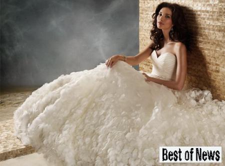 Какими будут свадебные платья в 2013 году