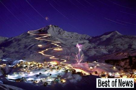 Новый Год на горнолыжном курорте Ароза