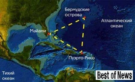 Бермудский треугольник и его игра