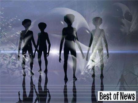 Встреча с инопланетянами или необычные метеоусловия