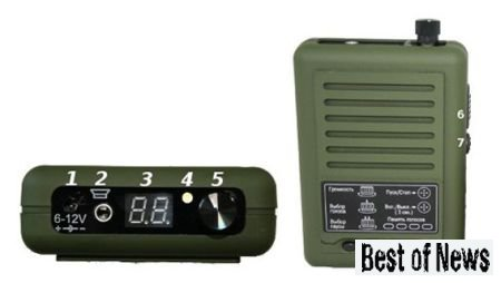 Основные компоненты манка Егерь-45