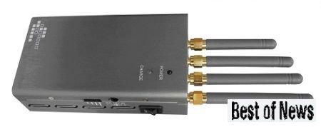 Портативный подавитель мобильных телефонов GSM 900/1800, 3G, Wi-Fi