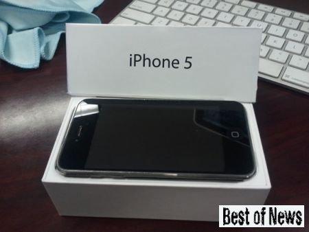 Когда выходит iPhone 5S от Apple