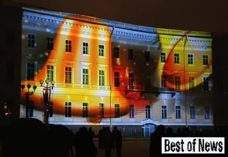 3D проекции на зданиях