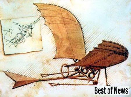 Леонардо да Винчи и его мечты о полетах