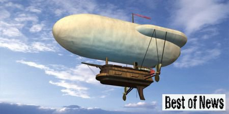 Первые воздушные шары, аэростаты и дирижабли