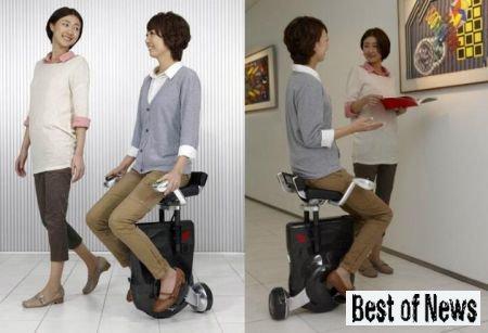 Японцы изобрели кресло-самокат