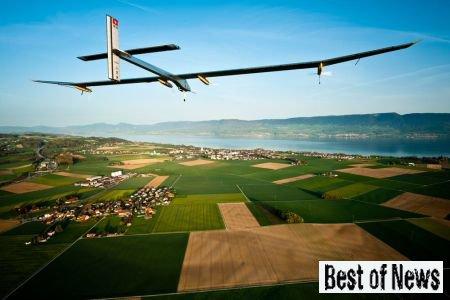 Авиа новости: в мае будет испытан самолет на солнечных батареях
