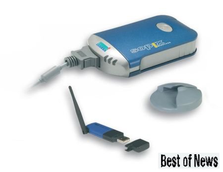 Визиограф с поддержкой технологии Bluetooth
