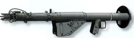 Реактивный противотанковый гранатомет