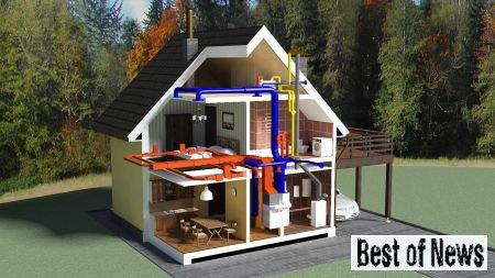 Как сделать систему отопления дома