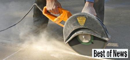 Как резать бетонные блоки