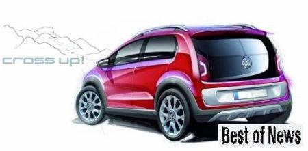 Внедорожная версия автомобиля Volkswagen Cross up