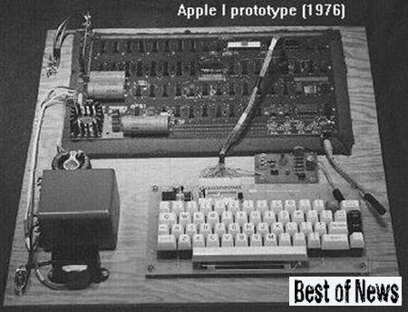 Полмиллиона долларов за рабочий экземпляр Apple I
