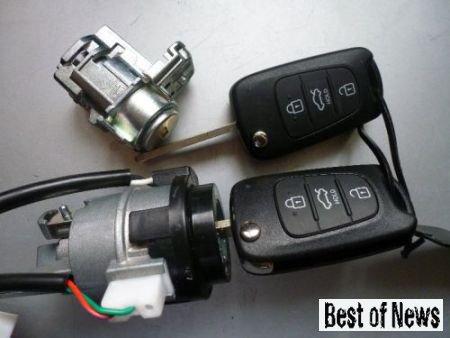 Автомобильные чип ключи