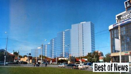 строительство жилого дома в общественно-деловой зоне города Омска