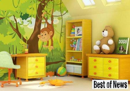 Детская комната. Оформление детской