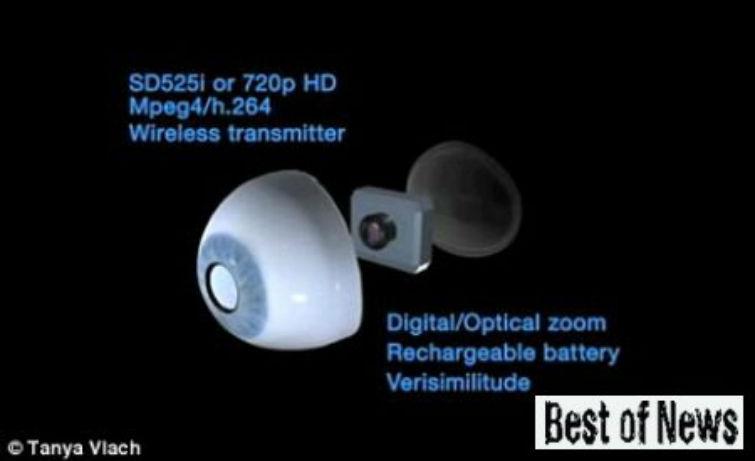 глаз веб-камера