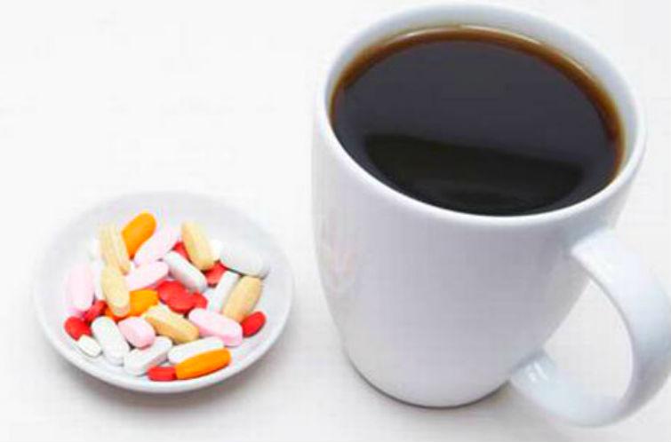 кофе и лекарства