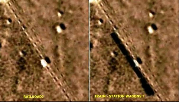 поезда на марсе