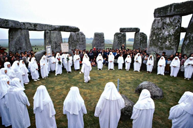 ритуалы в Стоунхендже