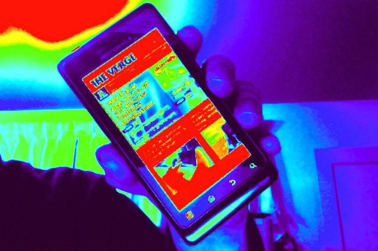тепловизор в смартфоне