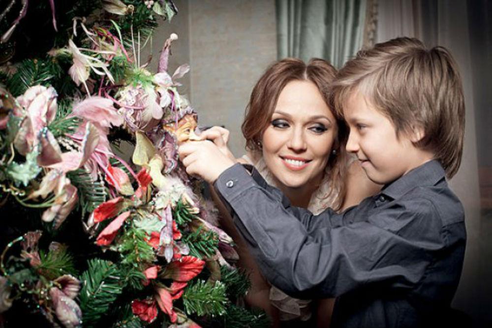 Альбина с сыном
