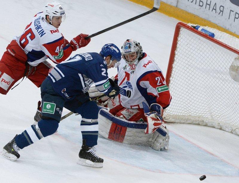 Динамо обыграло Локомотив