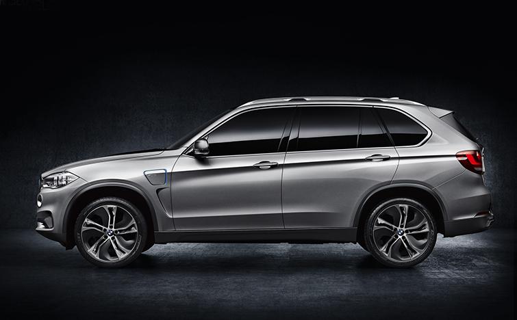 гибридный BMW X5