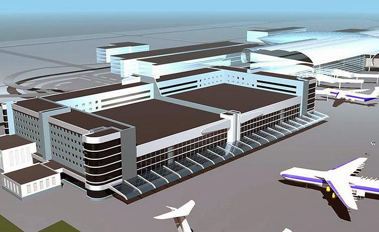 Новый аэропорт в Симферополе