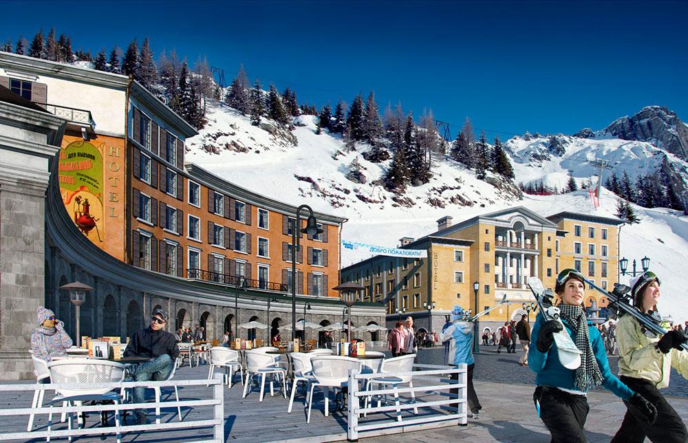 Отели горнолыжные курорты сочи 2015